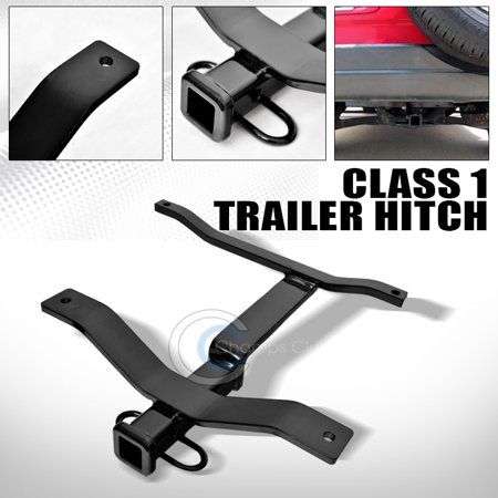 R&L Racing Class 1 Trailer Hitch Receiver Rear Bumper Tow Kit 1.25