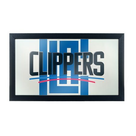 NBA Framed Logo Mirror - Fade - Los Angeles Clippers (Clippers Nba)
