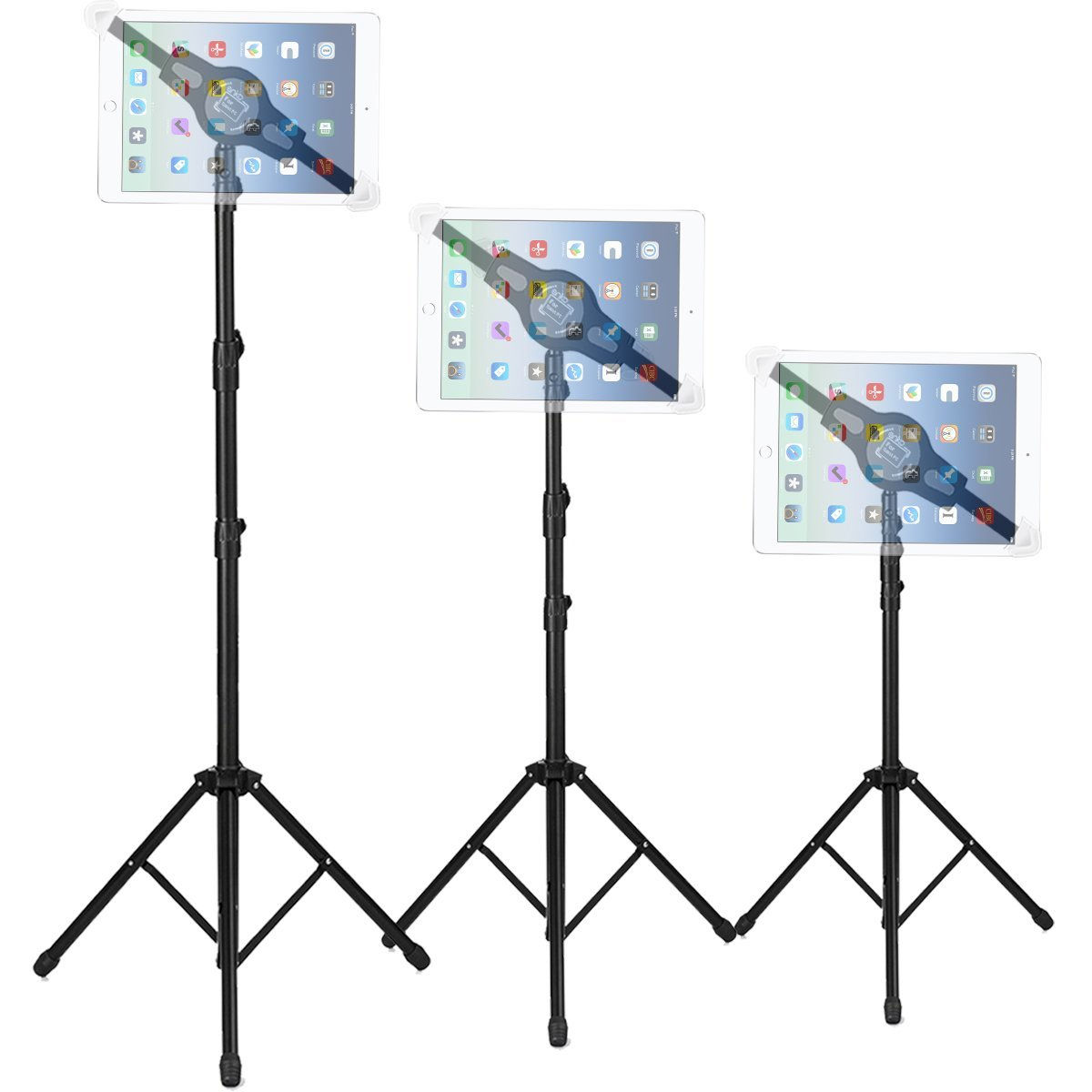 """Adjustable Retractable Tripod Stand Holder Bracket For 7/"""" to 12/"""" Tablet//i-Pad US"""