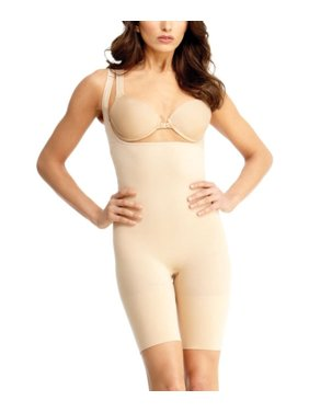2acd3c96d2d60 SlimMe Ground Control Braless Shaping Bodysuit - Shapewear by MeMoi Queens  1   Nude Shapewear