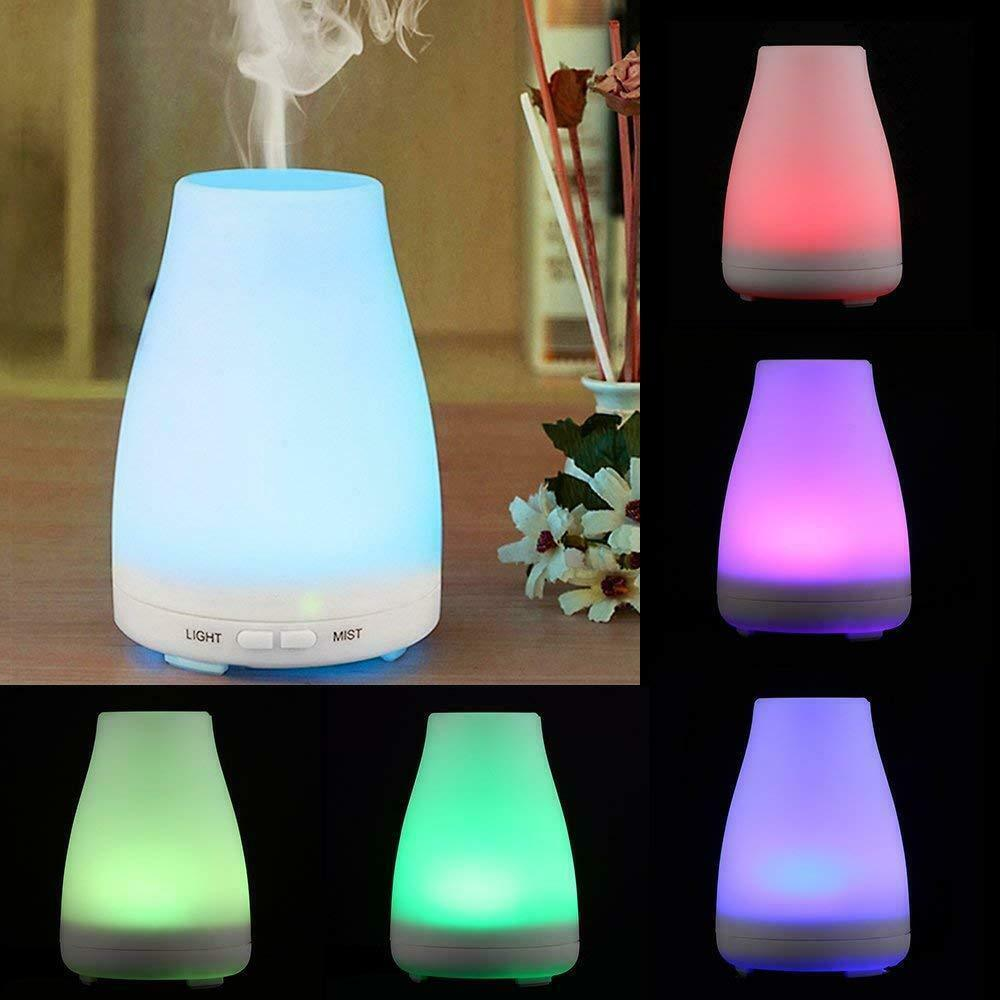 Air Électrique Diffuseur Aroma Huile Humidificateur DEL Light Up Home Relax DEFUSER