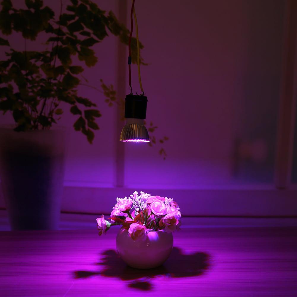 Foldable E27 Led Grow Light Full Spectrum Lamp for Hydroponics Plant Veg Flower