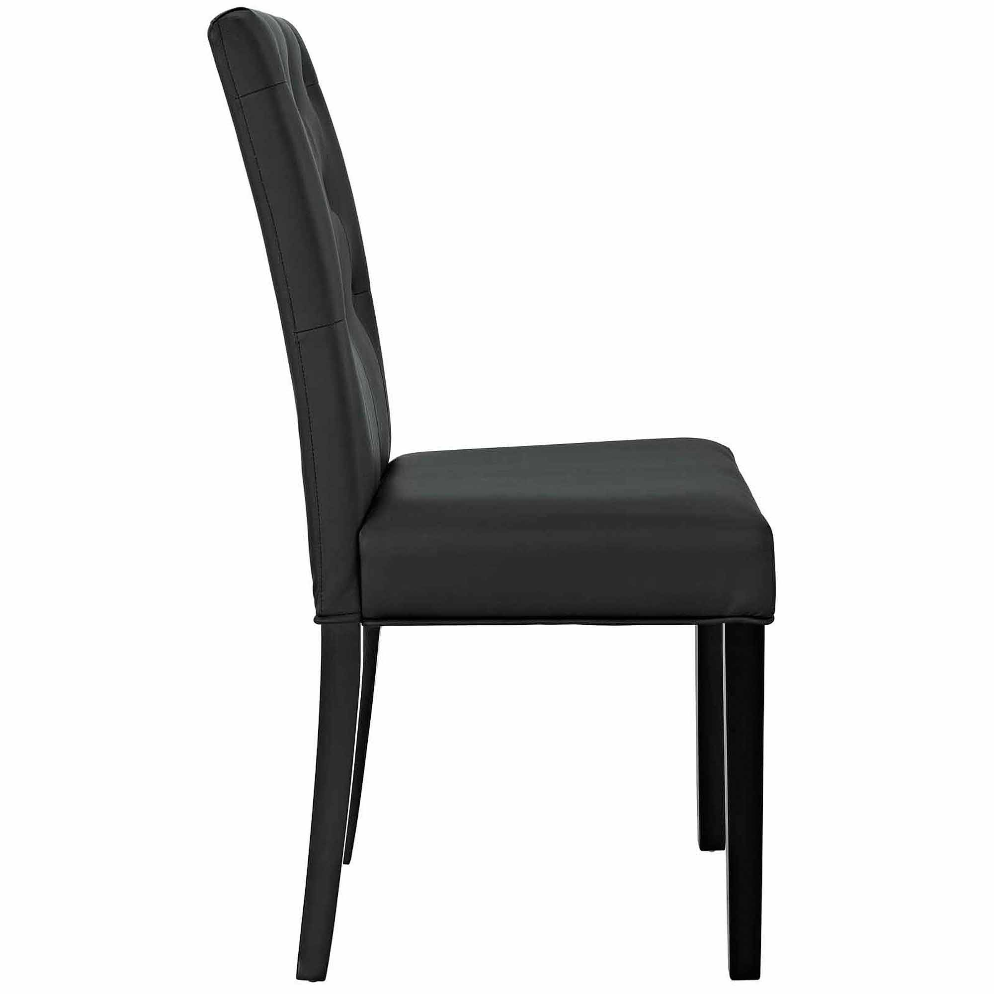 Modway Confer Dining Vinyl Side Chair Multiple Colors Walmart