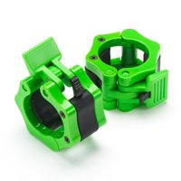 Black Mountain Products Barbell Clamps with Quick Release for 2 inch Olympic Bars