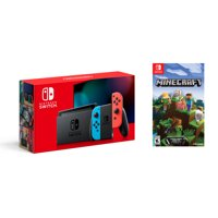 Deals on Nintendo Switch Console w/Minecraft Game