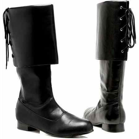 Jack Sparrow Costume Accessories (Sparrow Black Boots Men's Adult Halloween Costume)