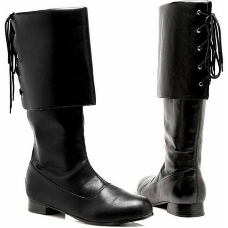 Sparrow Black Boots Men's Adult Halloween Costume Accessory