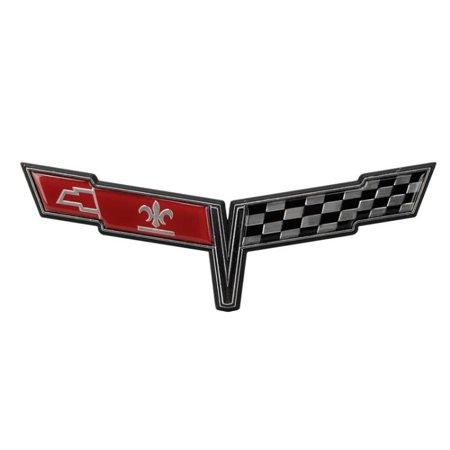 C3 Corvette 1980 Crossed Flags Nose -