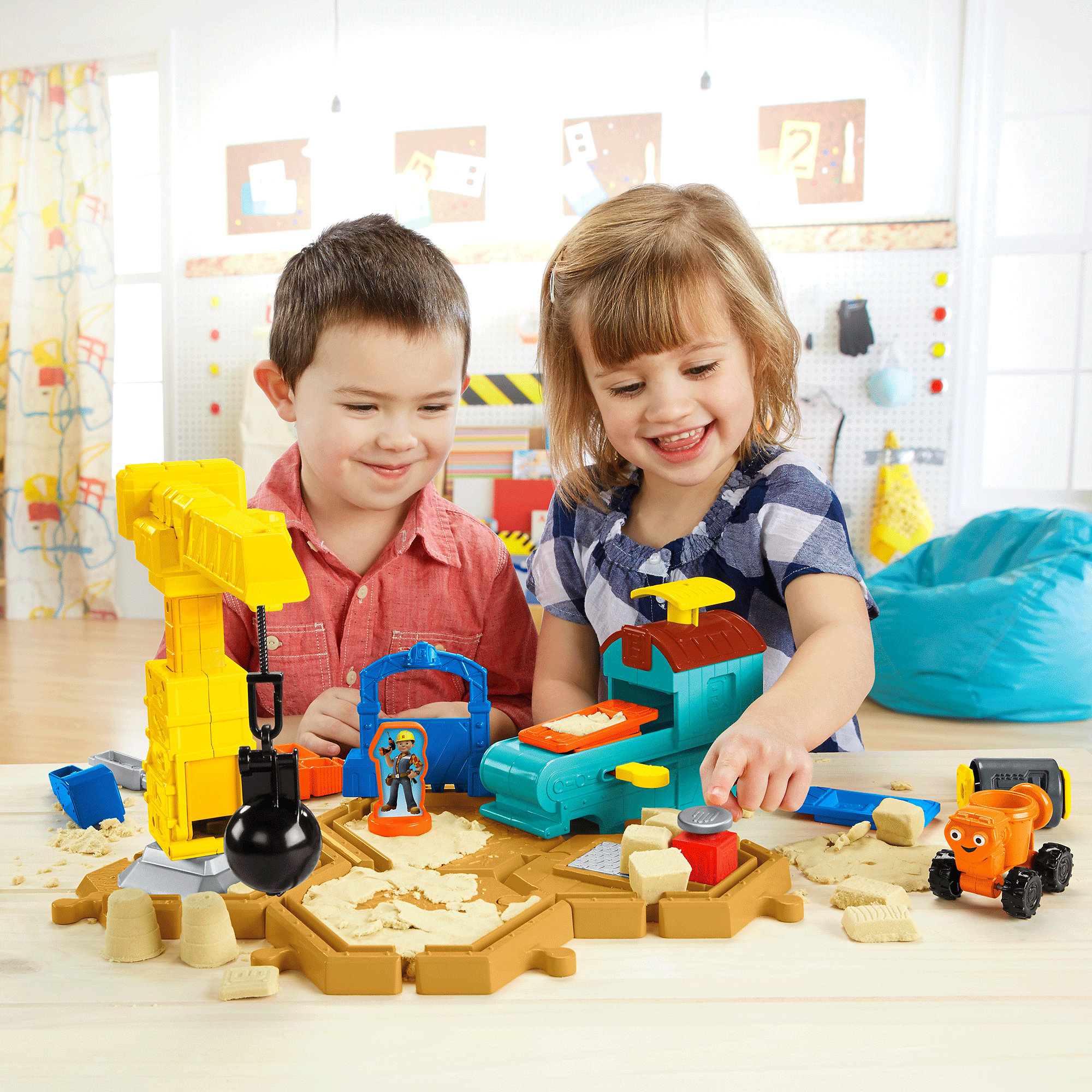 Fisher Price Bob The Builder Mash & Mold Construction Site by Fisher-Price
