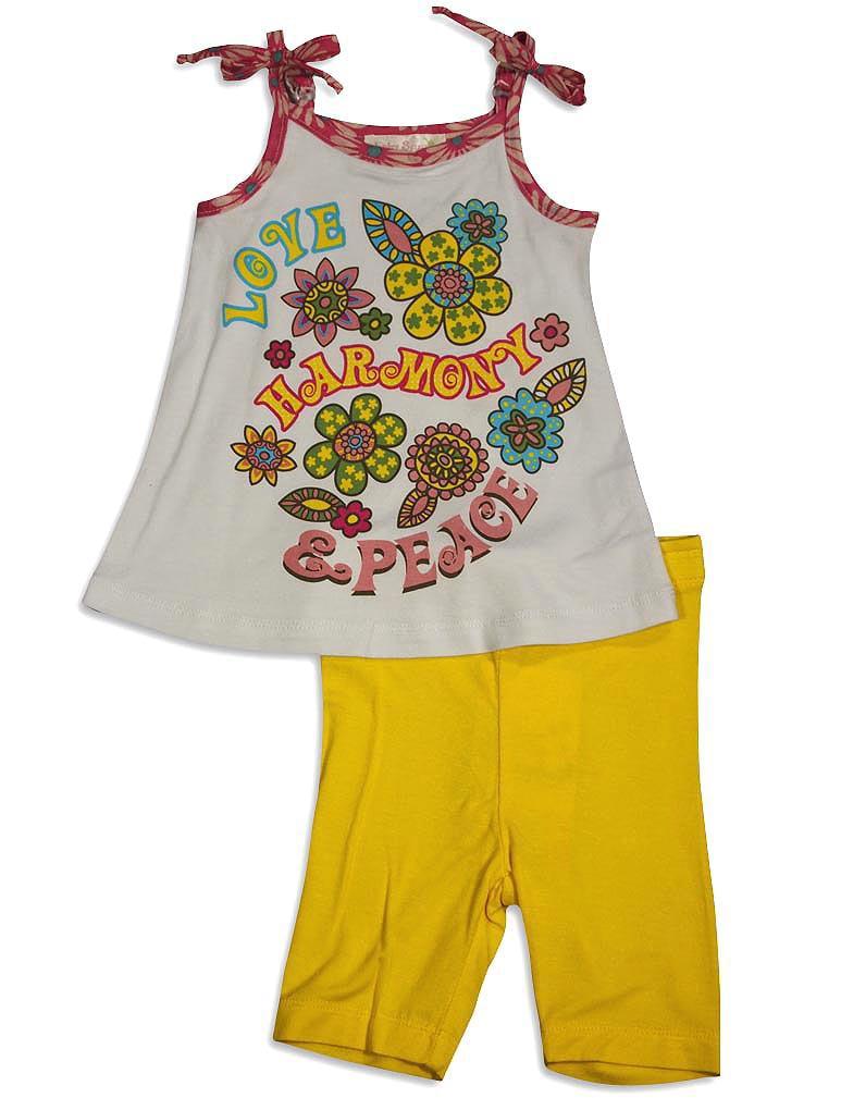 Baby Sara Infant Baby Girl Sleeveless Short Sets - Asst Fabrics Styles Colors, 30674 fuchsia / 12Months