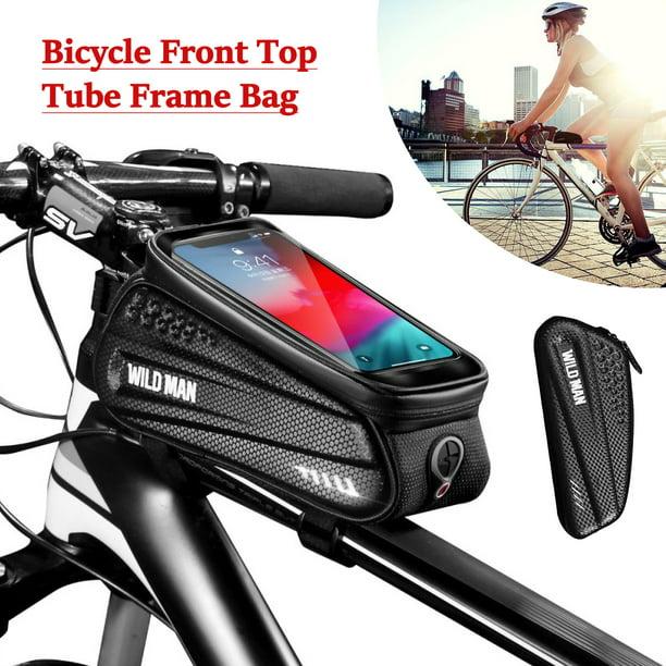 Bicycle Cycling Bike Front Top Tube Frame Bag MTB Waterproof Phone Holder Case
