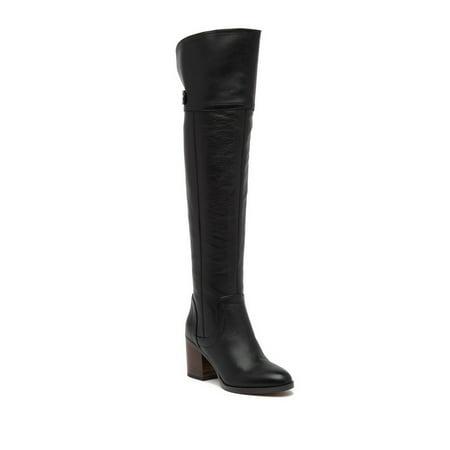 4a986637c09 FRANCO SARTO - Franco Sarto Women s OLLIE Wide Calf Over The Knee Boot -  Walmart.com