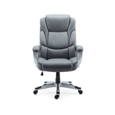 Staples Baird Bonded Leather Manager Chair