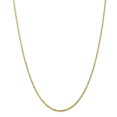 (14kt Yellow Gold 2mm Link Rope Chain Necklace 20 Inch Pendant Charm Handmade Fine Jewelry Ideal Gifts For Women Gift Set From Heart)