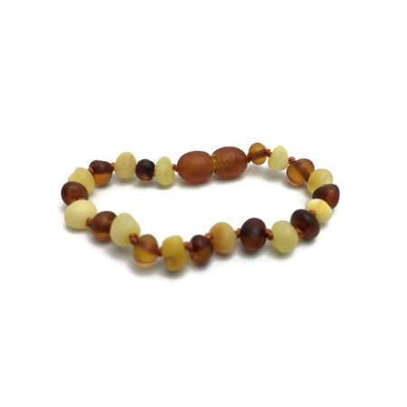 5.5 In Coordinating Baby Amber Teething Bracelet Screw Clasp Amber Sun Amber Necklace