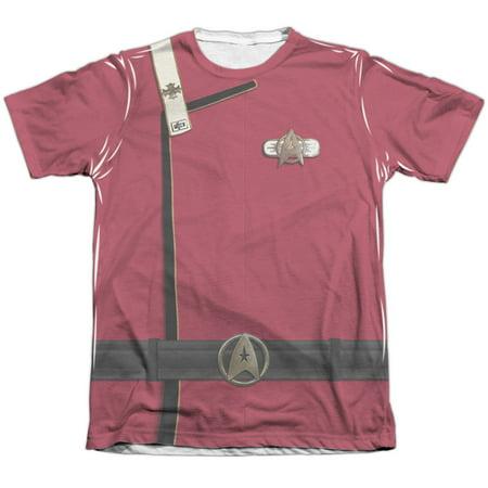 Star Trek Admiral Kirk Uniform Mens Sublimation Shirt (Star Trek Uniform Buy)