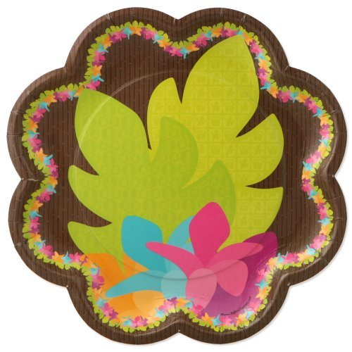 Luau - Party Dinner Plates (8 count)