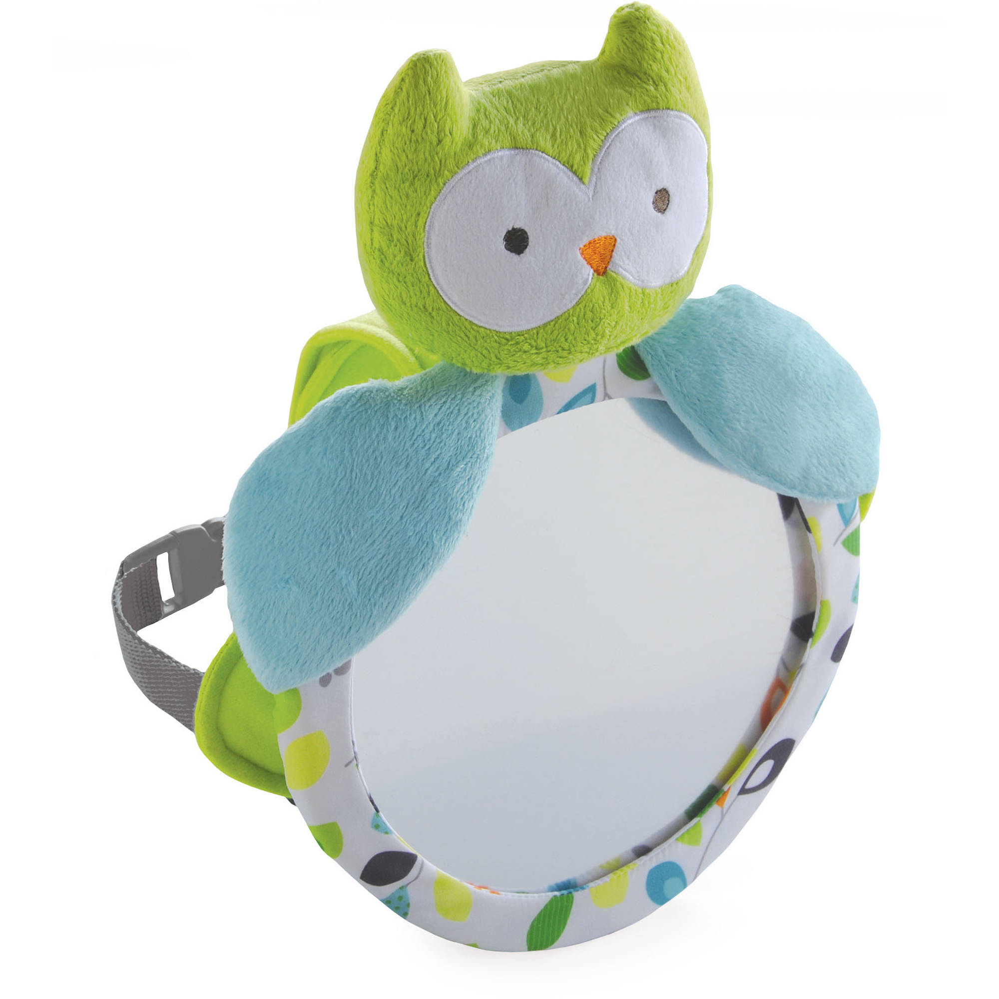 Child Of Mine Owl Mirror, Multi-Color