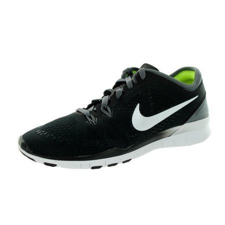 Nike Women's Free 5.0 Tr Fit 5 Training Shoe Train harder with just enough cushioning and support and none of the extra bulk in the Nike Free 5.0 TR Fit 5 Training Shoes. Designed to mimic the feel of bare feet, these trainers offer you a full range of motion and the ultimate in comfort, helping you to embrace more natural movements.