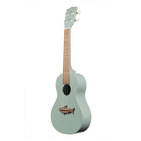 kala makala shark concert ukulele shark fin grey mk cs gry. Black Bedroom Furniture Sets. Home Design Ideas