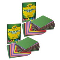 Crayola 96 Count Construction Paper Great for Crafting Projects - 2 Pack