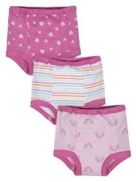 Gerber Organic Cotton Reusable Training Pants, 3pk (Toddler Girls)