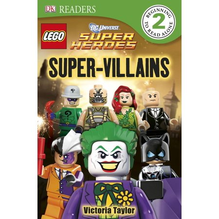 DK Readers L2: LEGO DC Super Heroes: Super-Villains - eBook (Superheroes Or Villains)