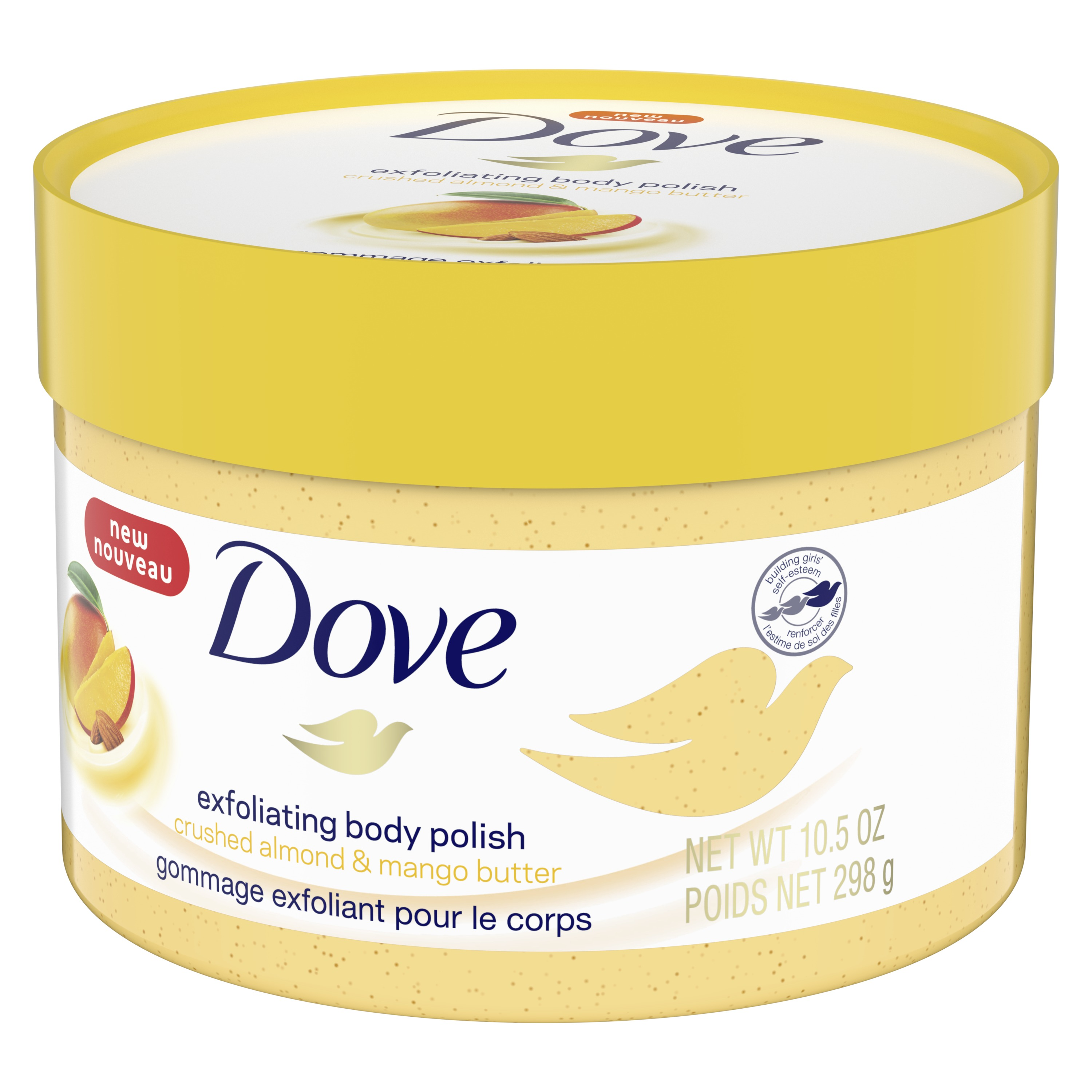 Dove Exfoliating Body Polish Crushed Almond And Mango Butter 10 5 Oz Walmart Com Walmart Com