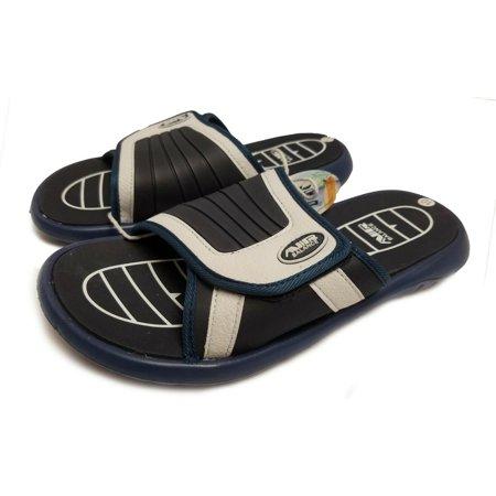 f78cfc93bfd5 Air Balance Men s Slide Sandal (Navy   White