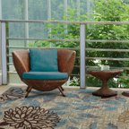 Mohawk Home Avenue Stripe Indoor Outdoor Nylon Rug Multi