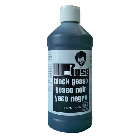 Bob Ross Gesso, Black, 16 oz. - Buy Bob Ross Painting Original