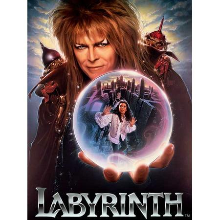 Labyrinth POSTER Movie E Mini Promo - Labyrinthe Halloween