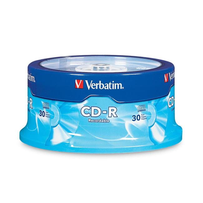 Verbatim CD-R 80 min/700MB 52x Branded Spindle, 30pk