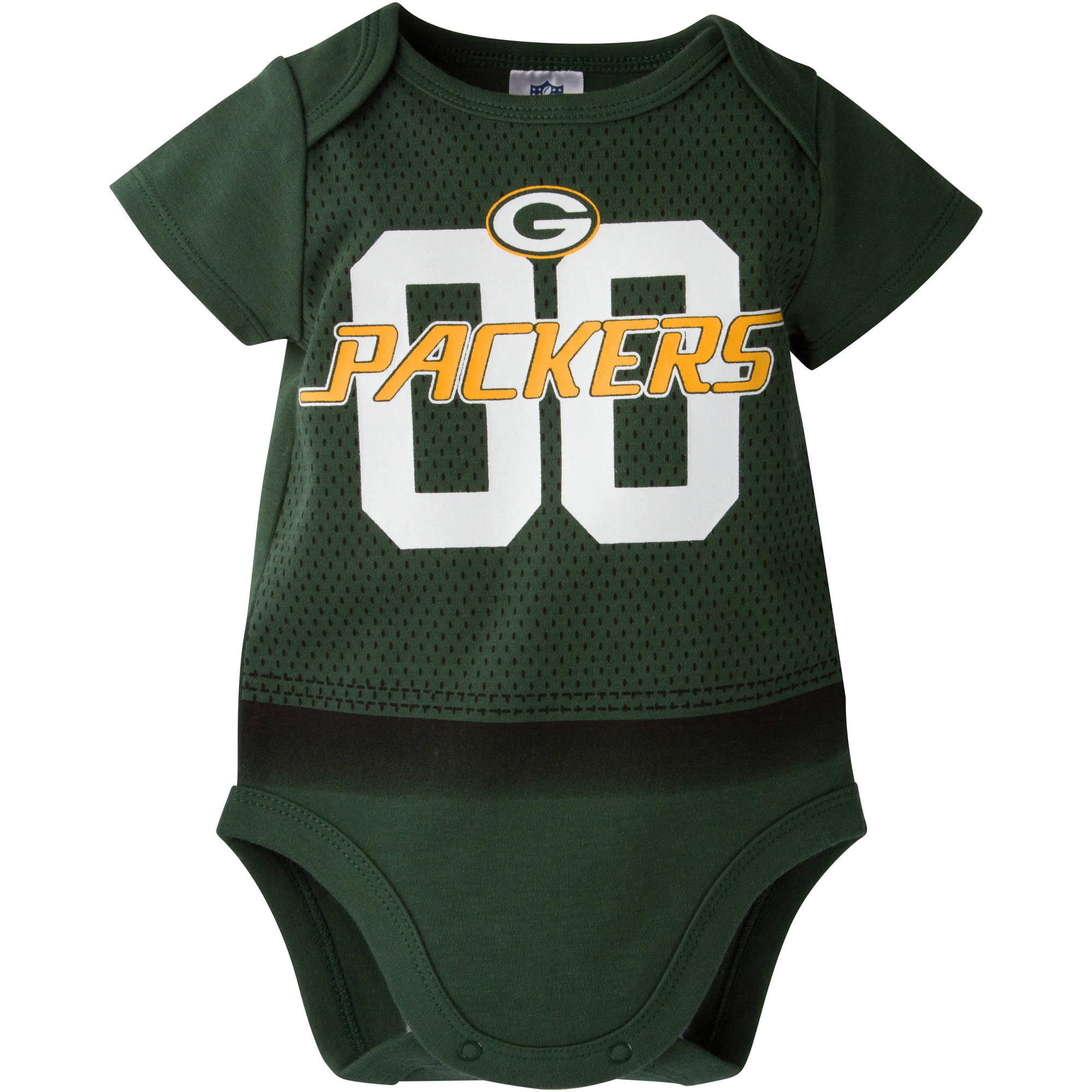 NFL Green Bay Packers Baby Boys Team Bodysuit Walmart