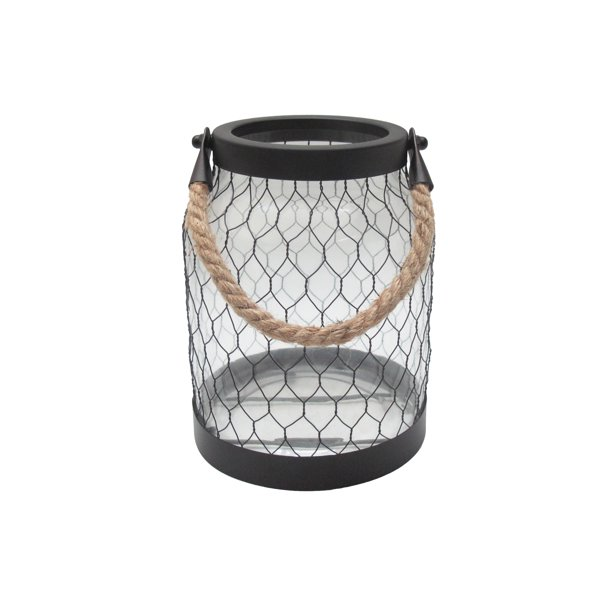 Better Homes and Gardens® Nautical Glass Lantern