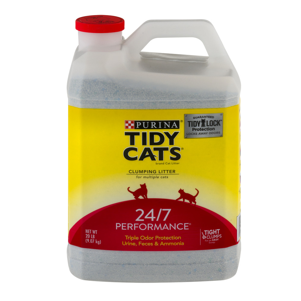 Purina Tidy Cats Clumping Litter For Multiple Cats 24/7 Performance, 20.0 LB