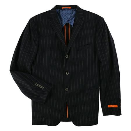 Tallia Mens Slim-Fit Three Button Blazer Jacket Custom Fit Three Button Suit