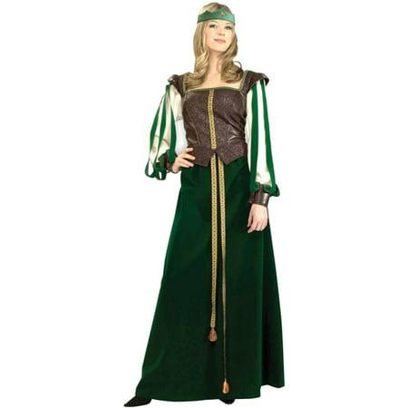 Maid Marion Adult Halloween Costume - Halloween Maid Hair
