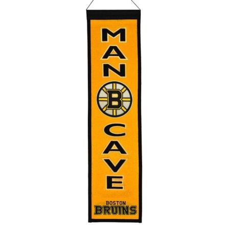 NHL Man Cave Banner, Boston Bruins ()