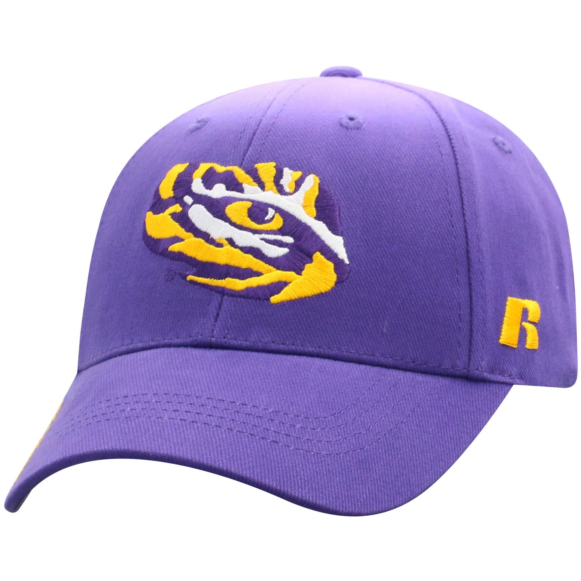 Men's Russell Purple LSU Tigers Endless Adjustable Hat - OSFA