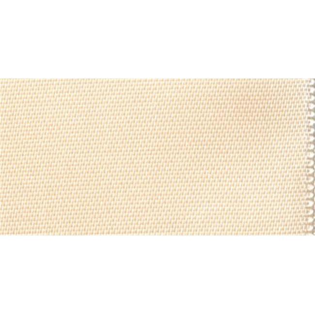 Wrights 42258 Single Fold Satin Blanket Binding 2 inch 4. 75 Yards-Ivory