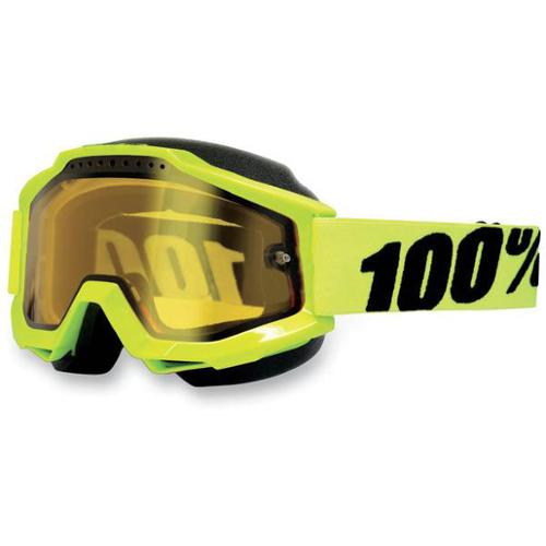 ACCURI Acc Snow FL, Yellow Lens 100/% Unisex-Adult Goggle One Size