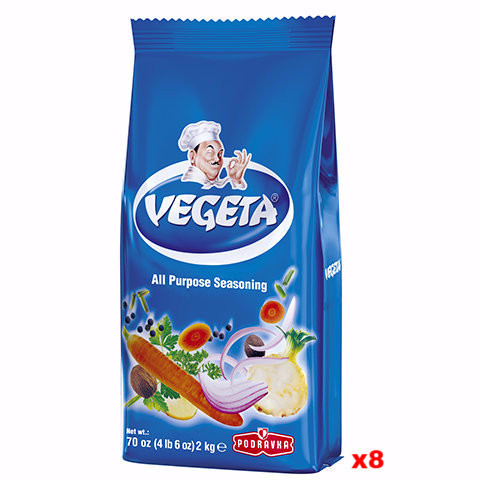 Vegeta Seasoning, CASE, 8x2kg bags