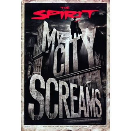 The Spirit Poster Movie B Mini Promo