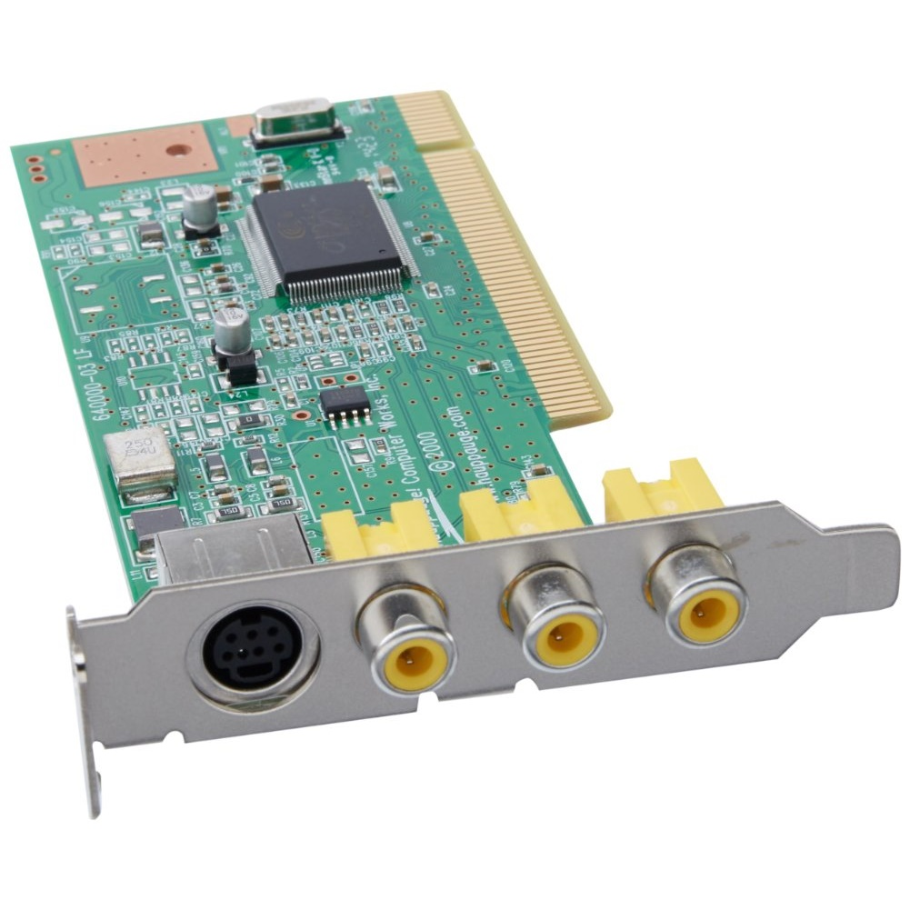 IMPACTVCB VIDEO CAPTURE BOARD LP-PCI 1-SVID 3-RCA COMP