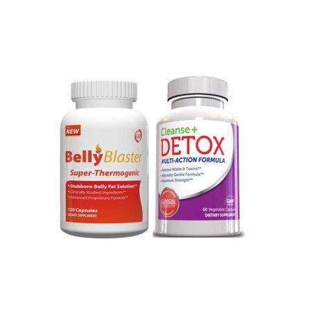 Blaster ventre Kit régime - Belly Blaster AM Fat Burner W / Cleanse Detox &