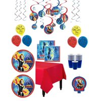 Captain Marvel Mega Birthday Party Kit for 16 Guests