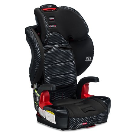 Britax Frontier ClickTight Cool Flow Harness-2-Booster Car Seat, Grey ()