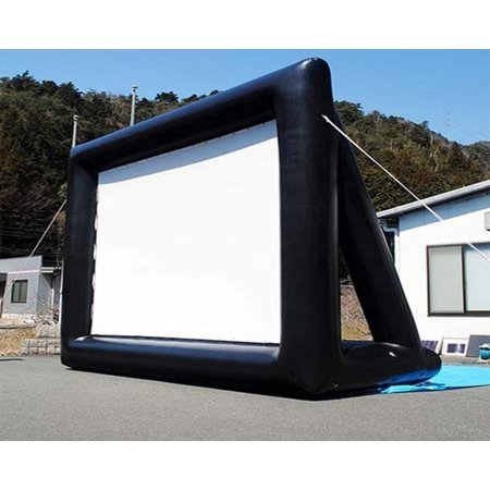 Printable Box Template - 16ft Inflatable Movie Screen with Printable Party Theme Movie Ticket Templates | Portable Lightweight & Fully Equipped With Blower For Easy Set Up | Great For Outdoor Backyard Pool Fun