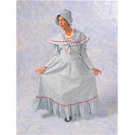 Alexander Costume 18-081-R Pioneer Dress With Shawl - Medium, - Pioneer Dresses For Sale